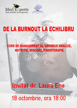 DE LA BURN OUT LA ECHILIBRU
