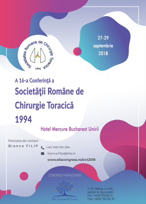 CONFERINTA SOCIETATEA ROMANA DE CHIRURGIE TORACICA