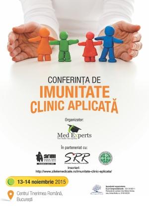 CONFERINTA DE IMUNITATE CLINICA APLICATA