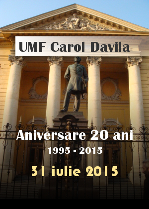 ANIVERSARE UMF CAROL DAVILA