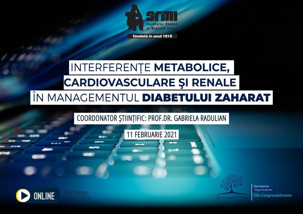 INTERFERENTE METABOLICE, CARDIOVASCULARE SI RENALE IN MANAGEMENTUL DIABETULUI ZAHARAT