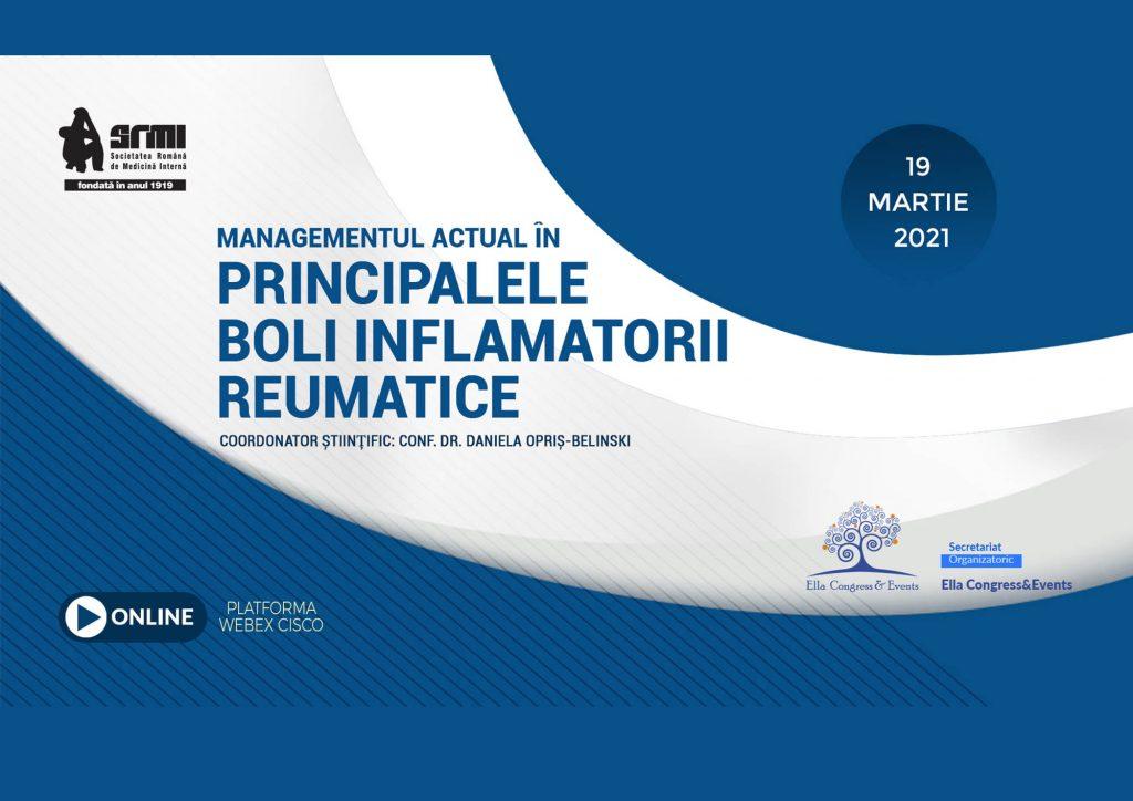 MANAGEMENTUL ACTUAL IN PRINCIPALELE BOLI INFLAMATORII REUMATICE